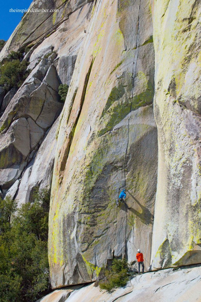 Aaron Cassebeer on the splitter off-fingers section of The Emperor