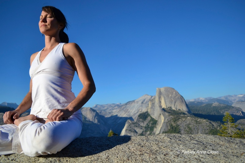 Meditation at Glacier Point