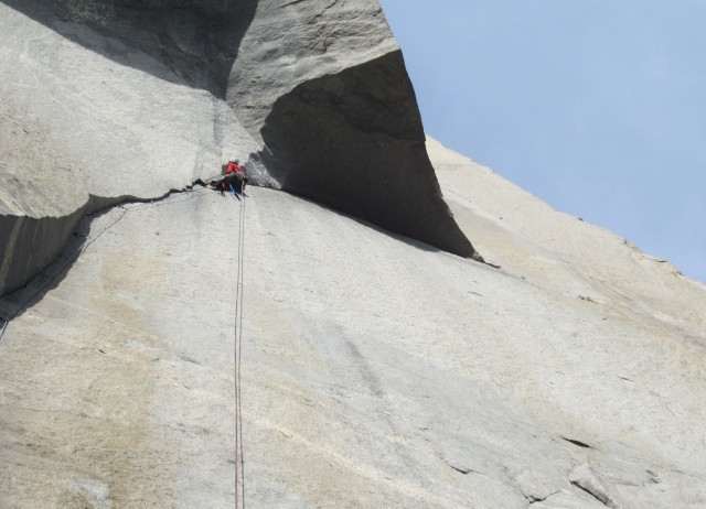 My lead on The Great Roof Pitch